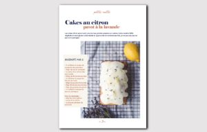 recette du cake au citron vegan