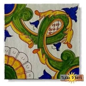 decoro siciliano in ceramica TD 261 PA