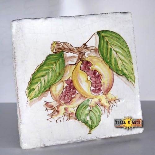 decoro-melagrana-ceramica-siciliana-terradarte-15x15-terracotta