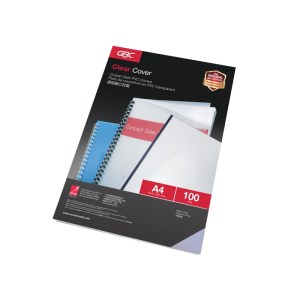 GBC Binding Clear Cover A4 – 0.20mm