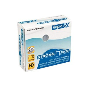 Rapid Strong 23/24mm 1000pcs staples