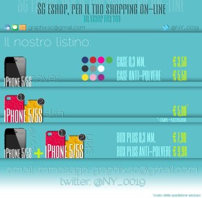 info costi per cover e skin iPhone 5/5S