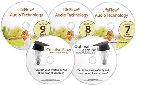 LifeFlow® Audio Technology 7 8 9 10 Bonus tracks LifeFlow Alpha Pack