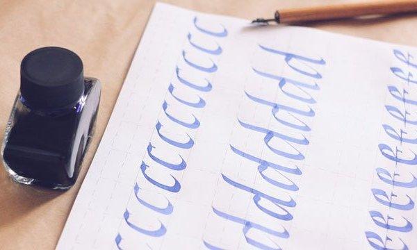 Italic Calligraphy Go from zero to hero in few hours