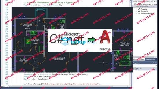 AutoCAD Programming using C.NET Beginner Course
