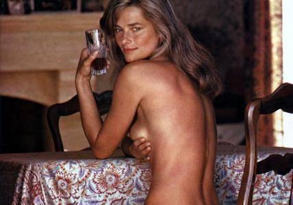 Charlotte Rampling Helmut Newton Photoshoot 1974 for Playboy