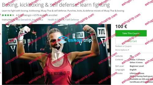 Boxing kickboxing self defense learn fighting