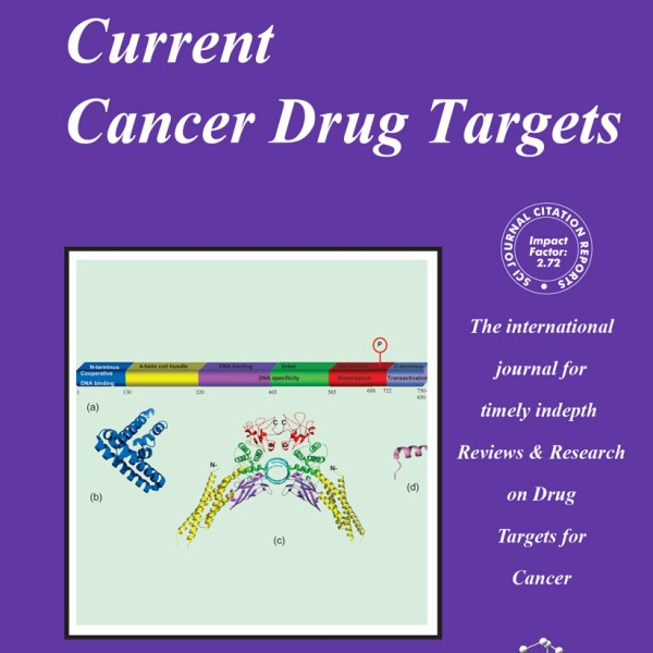 Current Cancer Drug Targets Journal 2001 2016