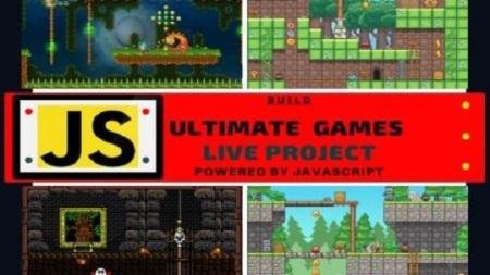 Learn Javascript Create Platformer Game real project using Javascript 2020