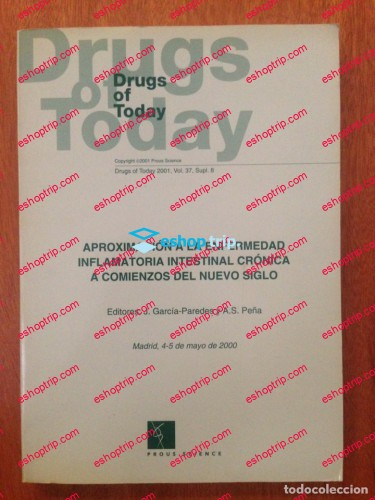 Drugs of Today Journal 1998 2018