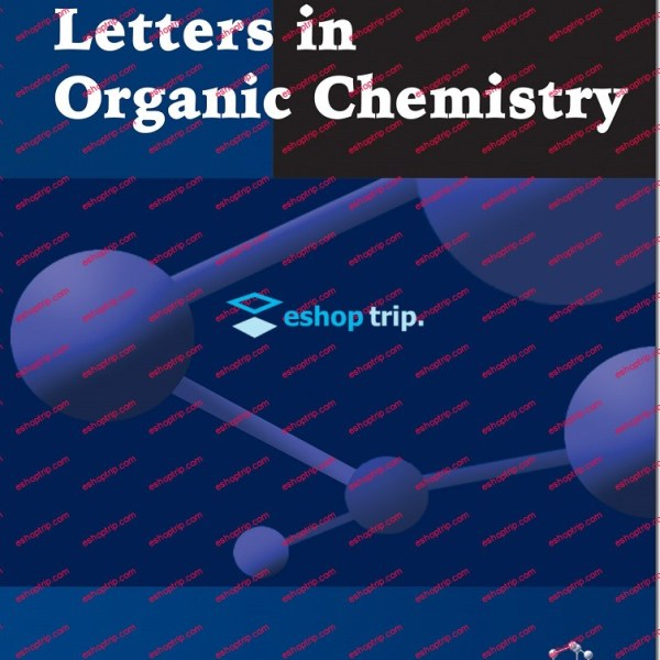 Letters in Organic Chemistry Journal 2004 2018