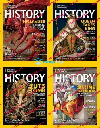 National Geographic History Full Year 2018 Collection