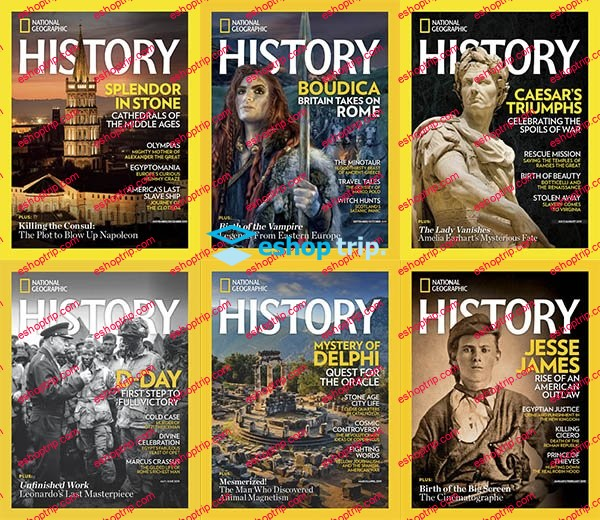 National Geographic History Full Year 2019 Collection