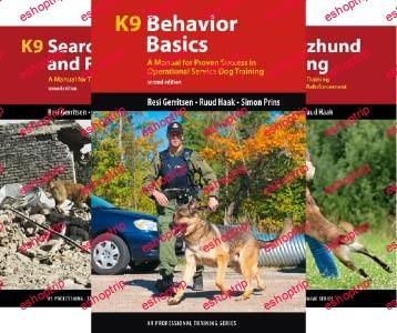 K9 Professional Training 12 books