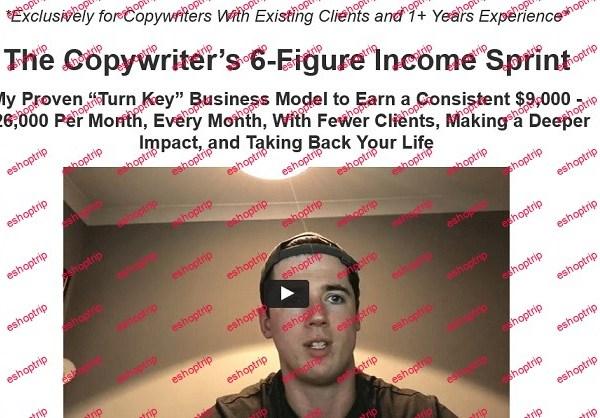 Adam Bensman The Copywriters 6 Figure Income Sprint