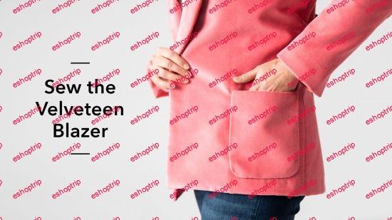 Sew the Velveteen Blazer