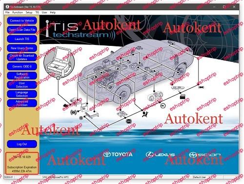 Toyota Techstream 15.10.029 Multilingual