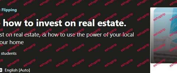Beginners guide how to invest on real estate