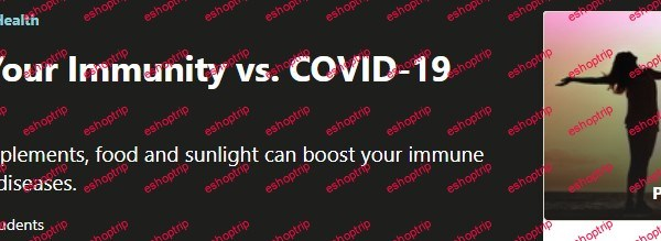 Naturally Boost Your Immunity vs. COVID 19 other diseases