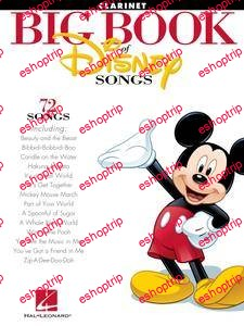 The Big Book of Disney Songs for Clarinet