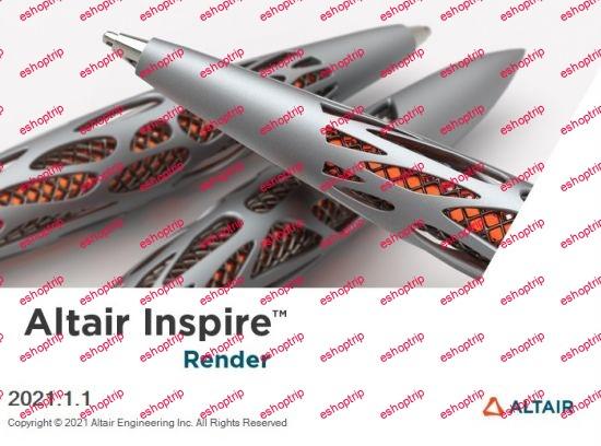 Altair Inspire Render 2021.1.1 Build 12649 x64