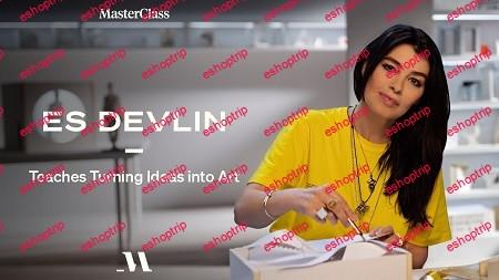 MasterClass Es Devlin Teaches Turning Ideas into Art