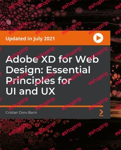 Packt Adobe XD for Web Design Essential Principles for UI and UX