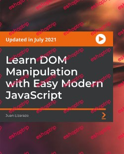 Packt Learn DOM Manipulation with Easy Modern JavaScript