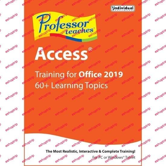 Professor Teaches Access 2019 v1.0