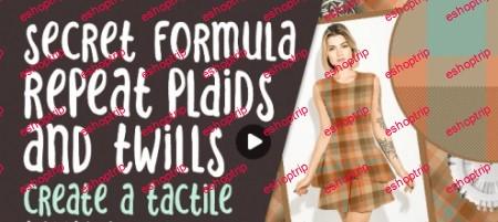 Secret Formula Repeat Plaids and Twills Create a Tactile Textile Look the Fastest Technique Ever