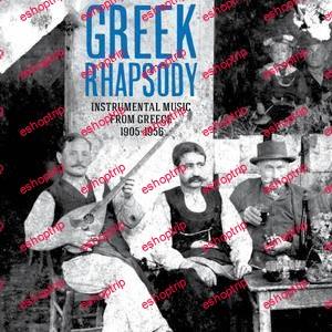 VA Greek Rhapsody Instrumental Music from Greece 1905 1956 2013