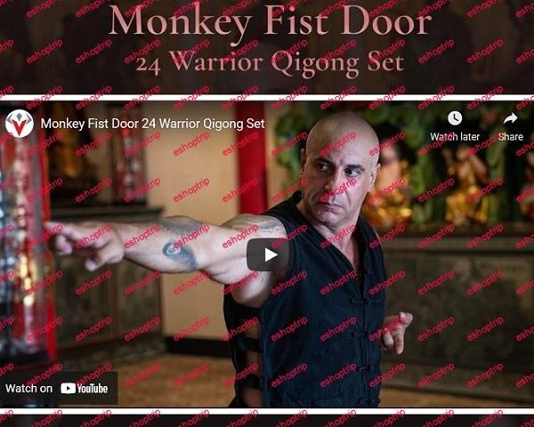 Warrior Neigong Monkey Fist Door 24 Warrior Qigong Set