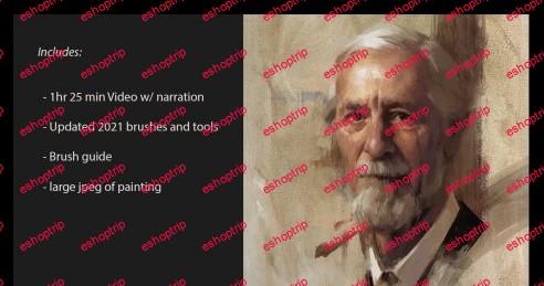 ArtStation Schmid Portrait techniques in Digital with Jarod Erwin