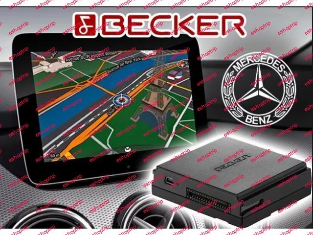 Becker Map Pilot Europe V21 2021