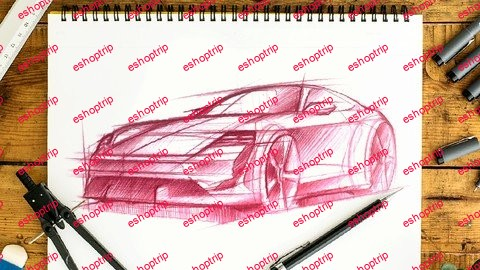 Car Sketching Official University Course