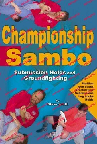 Championship Sambo DVD Steve Scott