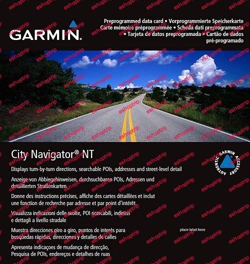 City Navigator Europe NT Unicode 2022.10