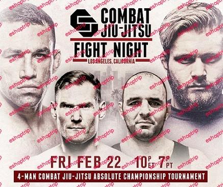 Combat Jiu Jitsu Absolute Championship 2019
