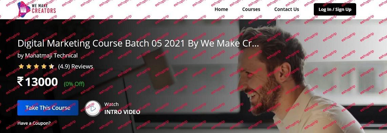 Digital Marketing Course Batch 2020 Version