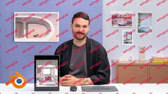 Domestika Interior ArchViz Create Surreal 3D Designs with Blender