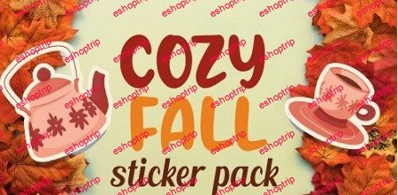 Draw a Sticker Pack in Procreate Cozy Fall Vibe Illustrations