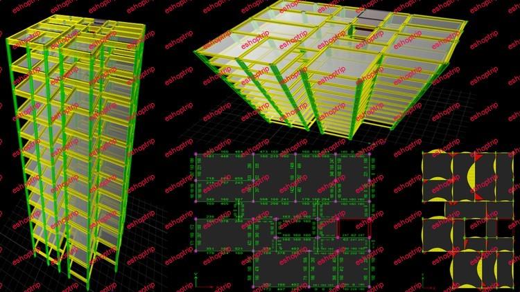 ETABS Learn Building Analysis Design AutoCAD Detailing