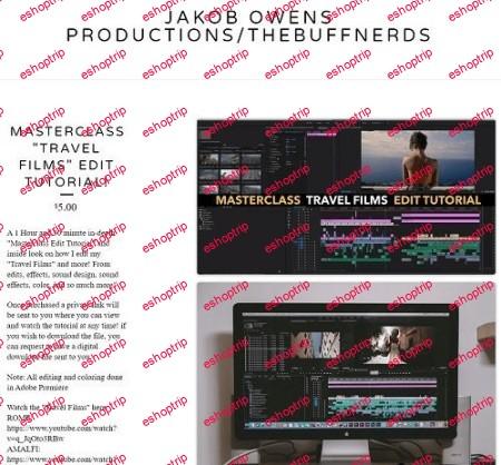 Masterclass Travel Films Edit Tutorial Jakob Owens