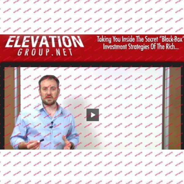 Mike Dillard Elevation Group Full Course Investment