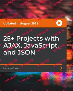 Packt 25 Projects with AJAX JavaScript and JSON