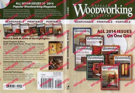 Popular Woodworking 2014 CD