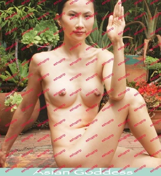Pure Nude Yoga Asian Goddess Wen Li