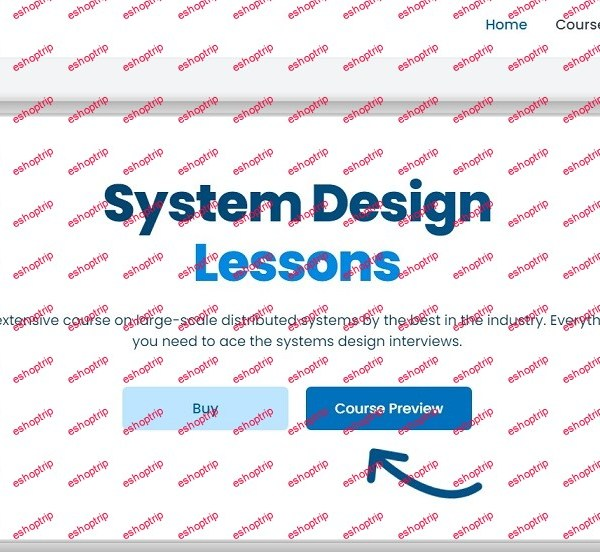 System Design Course Updated 08 2021