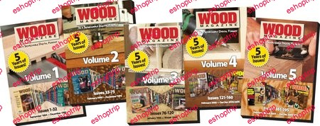 The Complete WOOD Magazine Collection on DVD 1984 2009