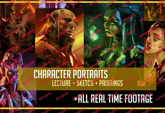Gumroad Character Portraits Real Time